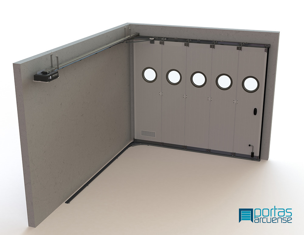 Side Sectional Door