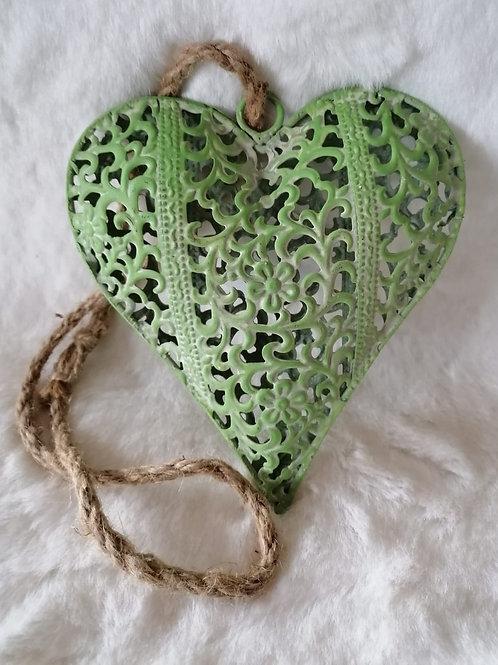 Herz Hänger grün