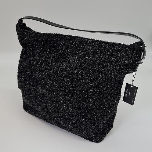 Handtasche  Schwarz mit Glitzer