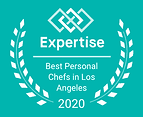 Expertise badge for personal chef servic