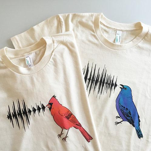 Bird Call Tee - Northern Cardinal