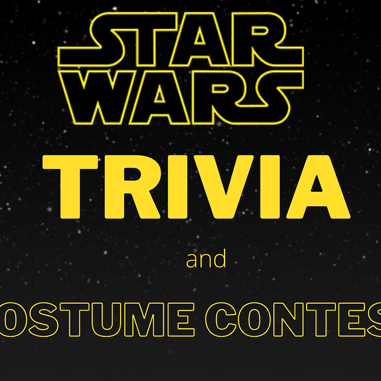 Star Wars Trivia and Costume Contest