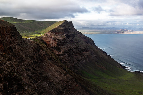 The Cliffs of Famara, Lanzarote, the Canary Islands, 2018.