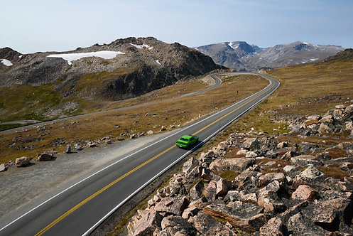 The Beartooth Highway, Wyoming, USA, 2017