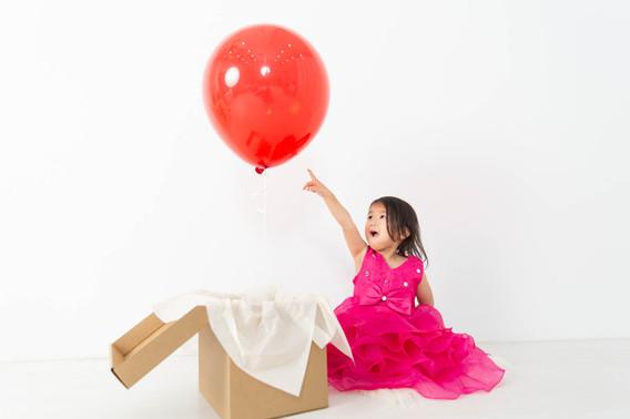 バルーン 福岡 子供 フォト 誕生日