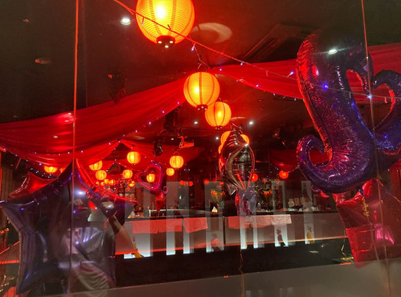 バルーン イベント 店内装飾中州