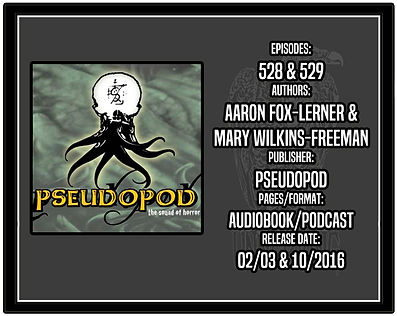 Review of Pseudopod Episodes 528 (Aaron Fox-Lerner) and 529