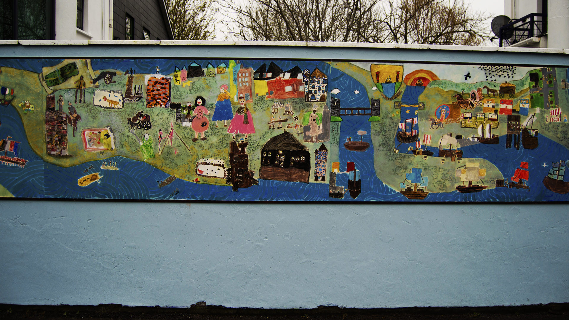Educate Together Mural (15)