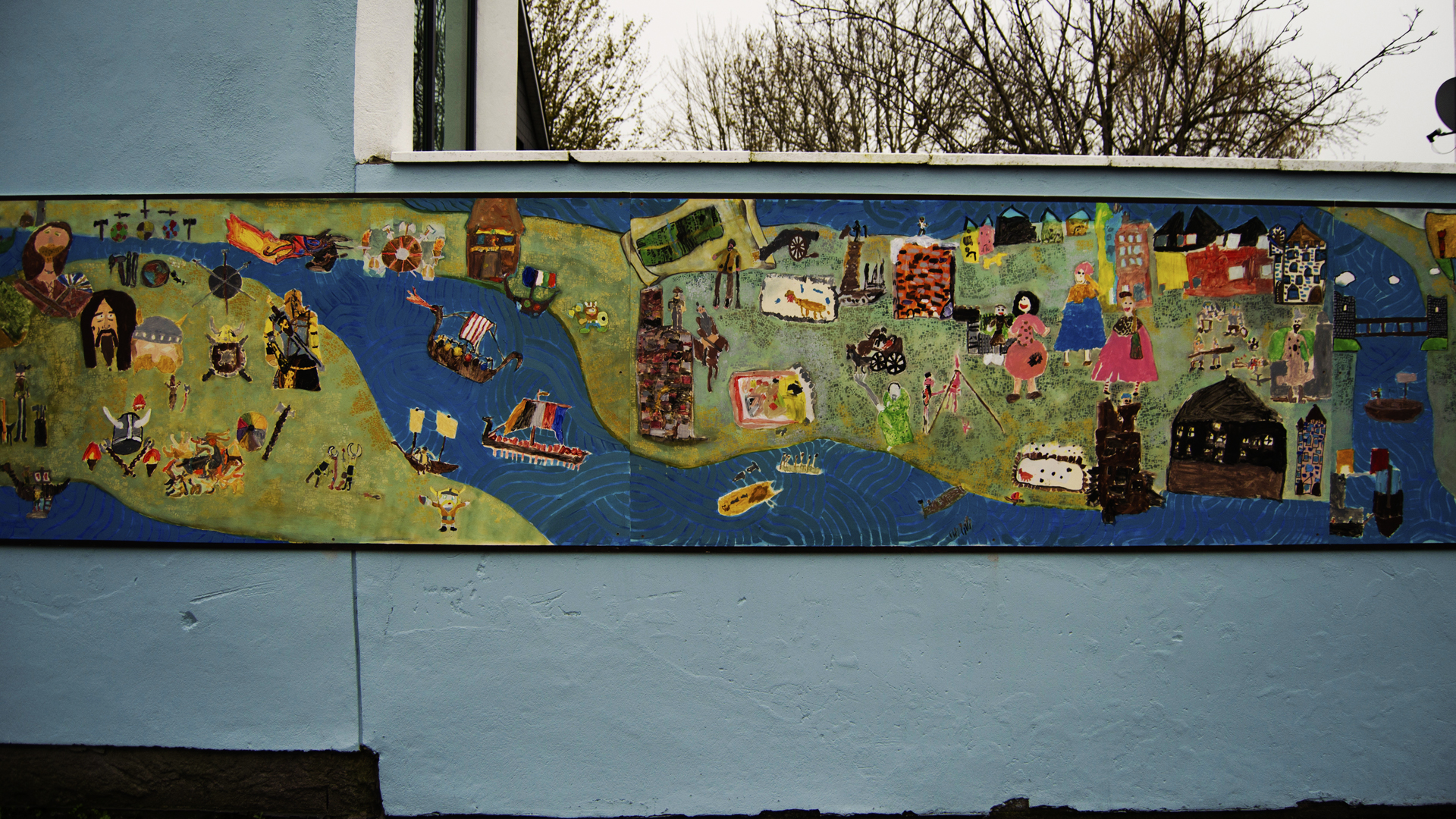 Educate Together Mural (16)