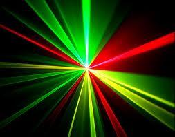Laser Verde e Vermelho