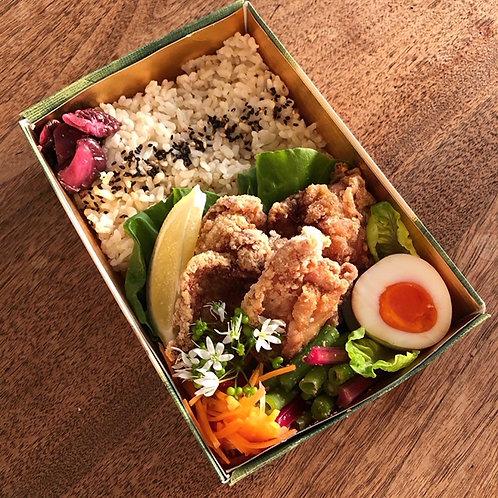 唐揚げ弁当 Chicken KaraAge Bento