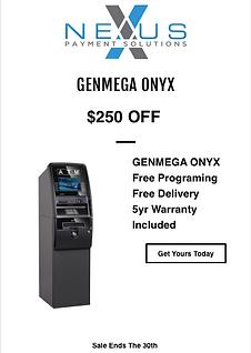 Genmega Onyx Brochure