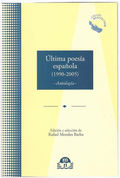 Última poesía española