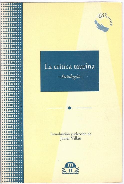 La crítica taurina: Antología