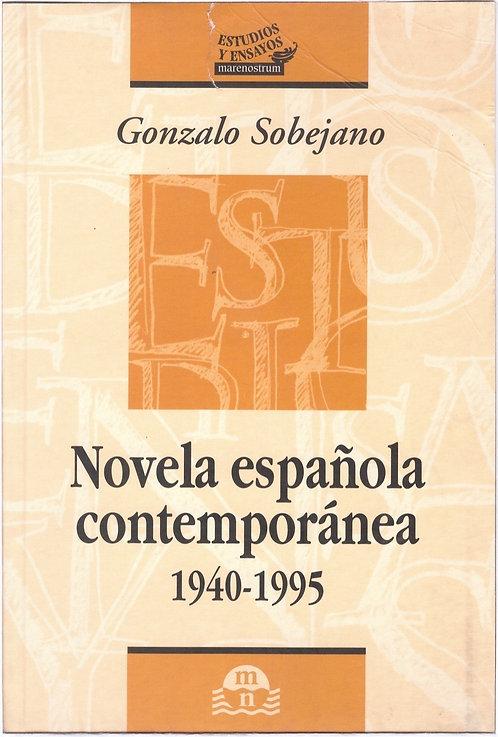 Novela Española Contemporánea: 1940-1995