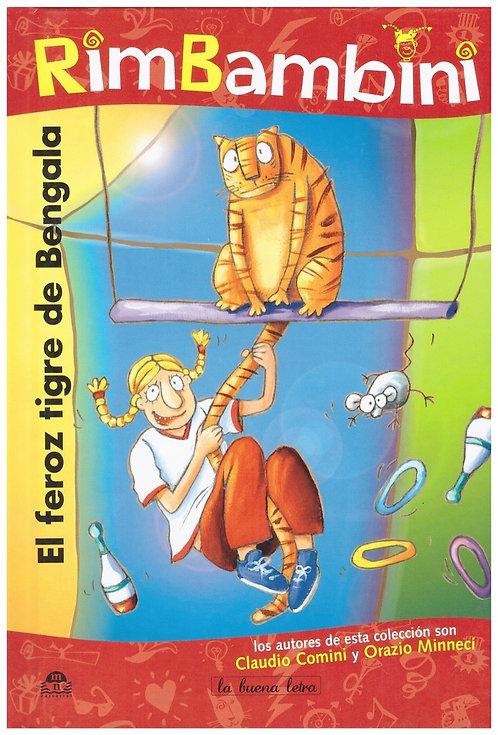 El feroz tigre de Bengala