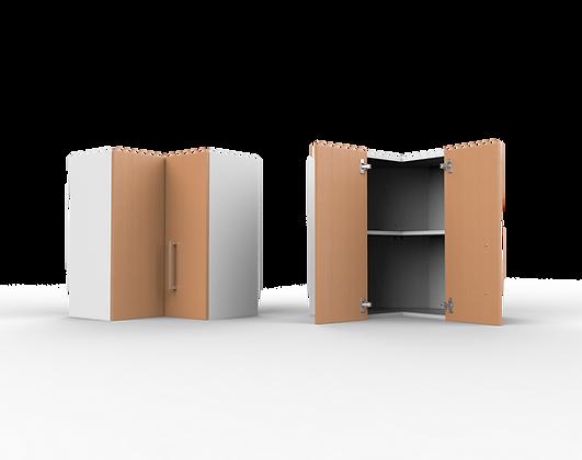 Kitchen Cabinet - 2 Door Corner Wall Unit