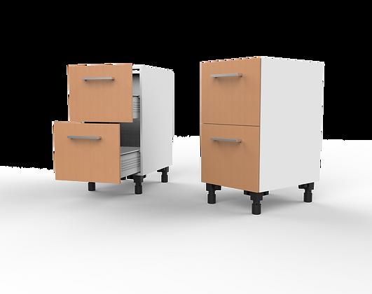 Kitchen Cabinet - 2 Drawer Floor Unit