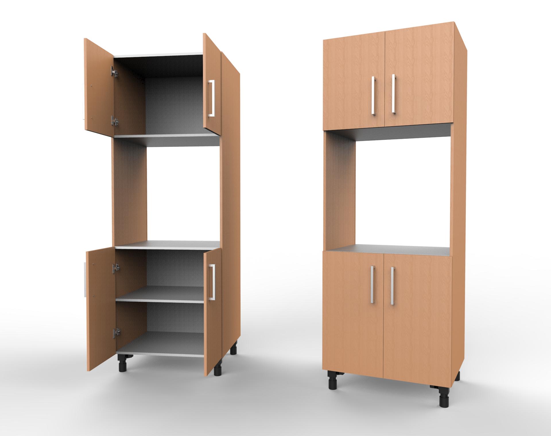 Kitchen Cabinet 4 Door Single E L O Unit Goodwood Boards