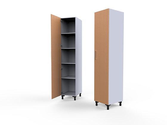 Bedroom Cabinet - 1 Door Shelving Unit