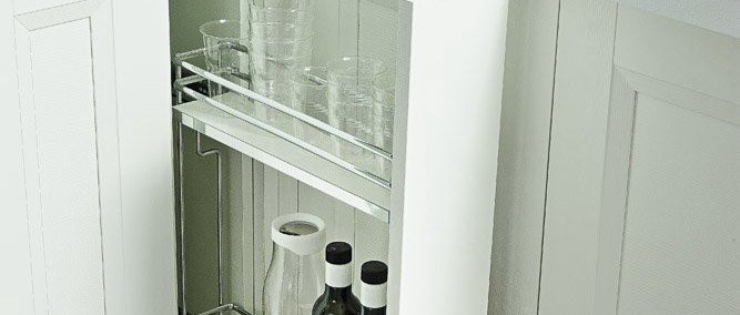 Pull-Out Spice & Bottle Organiser Galaxy