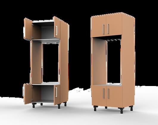 Kitchen Cabinet - 4 Door Double E.L.O. Unit