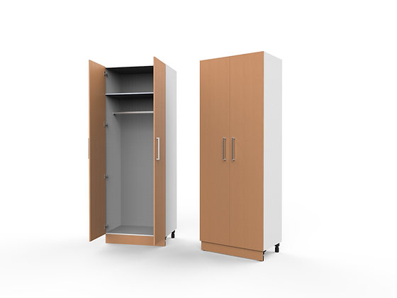 Bedroom Cabinet - 2 Door Hanging Unit