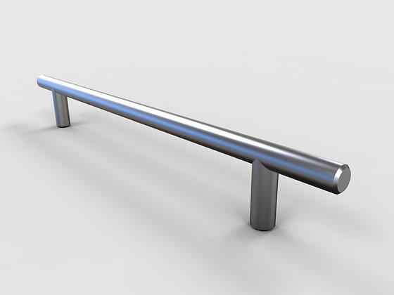 Handle - Round Bar 12mm BSN