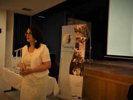 Celebrating the eTwinning school Label awards at Dingli Secondary School