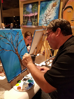 Painting for charity