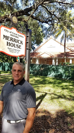 Dan Martucci at Merrick House