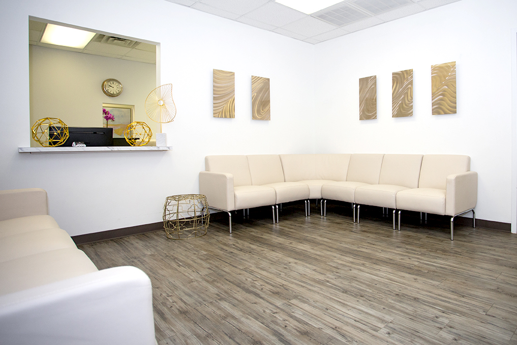 Preston Dermatology Waiting area