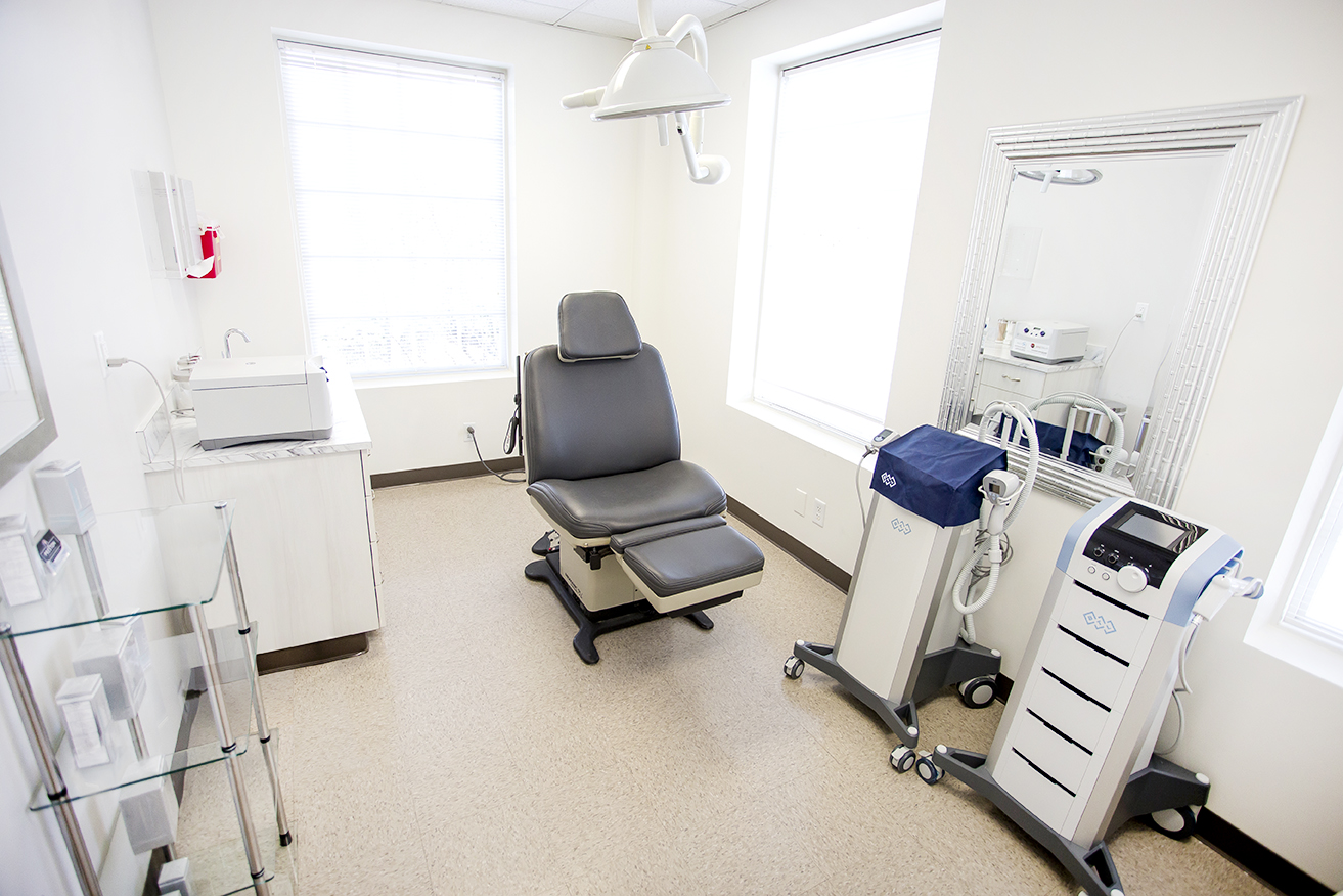 Preston Dermatology Exam Room 3