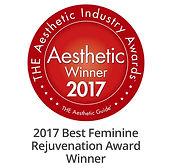 2017 Aesthetic Winner - Best Feminine Rejuvenation Award Winner