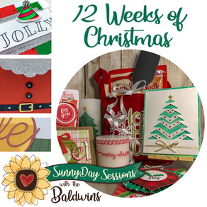 12 Weeks of {crafting} Christmas!