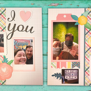 February Scrapbooking Subscription Kit