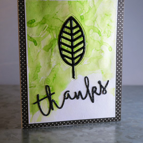 DIE-namite Thank you card