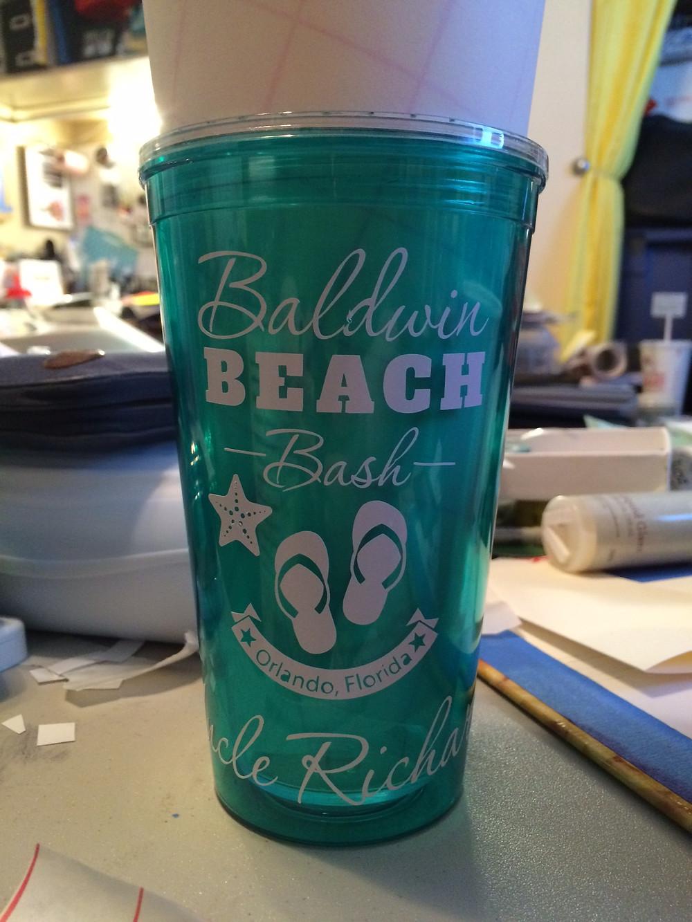 Baldwin Beach Bash Tumblers