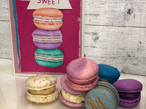 Pencil in some macarons