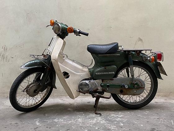 '81 HONDA C50 Groen