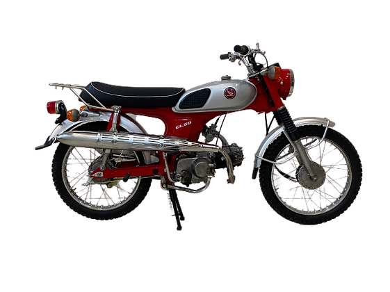 1968 HONDA CL50 RED