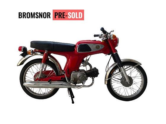 1971 HONDA SS50 rood gerestaureerd !