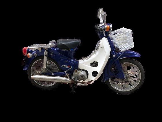 1977 HONDA C50 BLUE