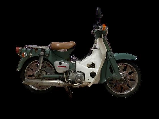HONDA C50 MOSS GREEN