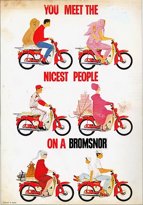 MEET  THE NICEST PEOPLE ON A BROMSNOR.pn