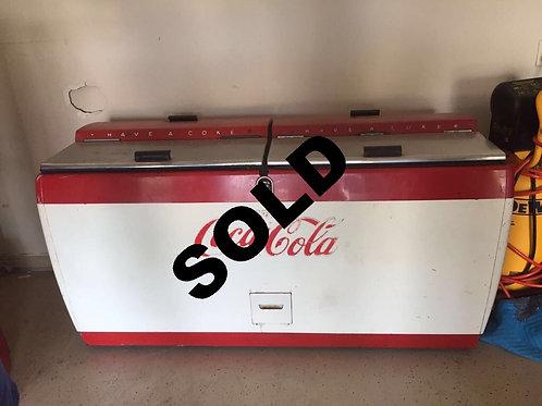 Coca Cola cooler RARE