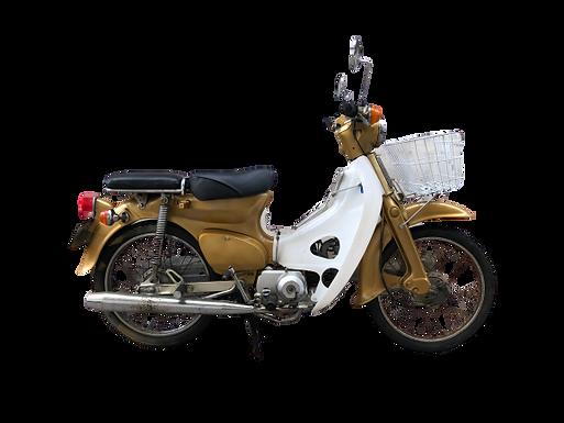 '79 Honda C50, Goud