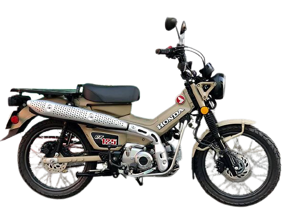 Honda Cub Trail 125 'Monster Cub'
