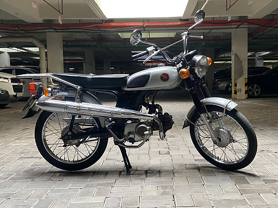 '68 HONDA CL50 Scrambler PRIJS OP AANVRAAG