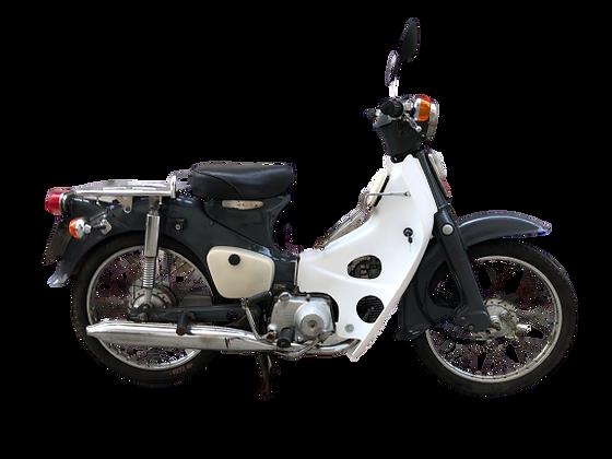 Honda C50 'Olifantgrijs'  90cc